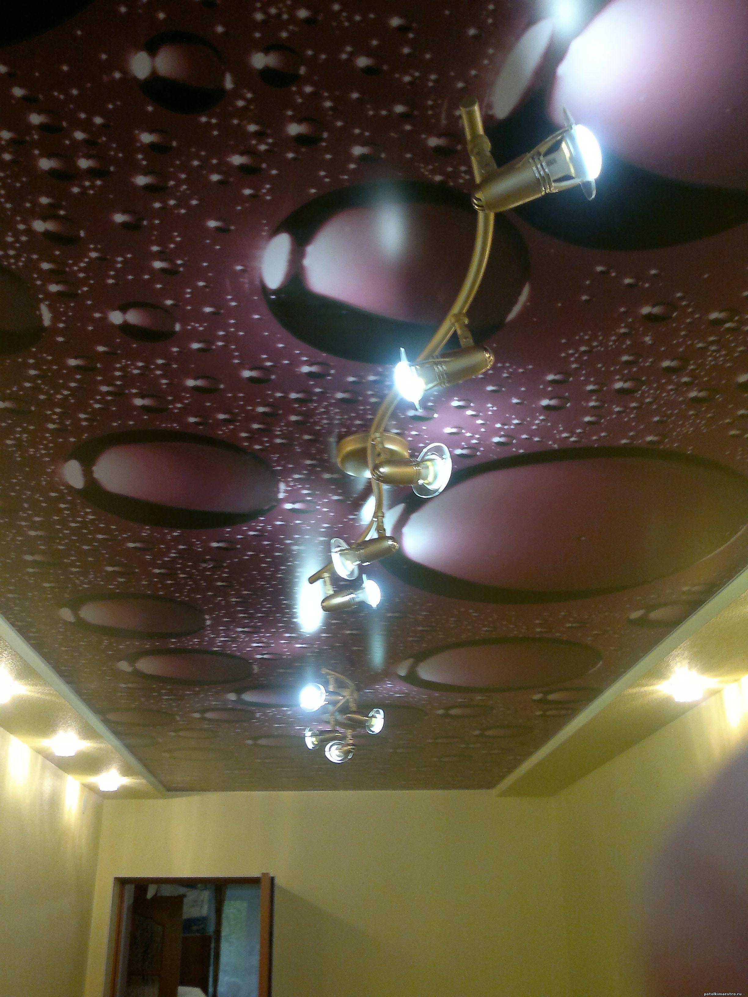 натяжные потолки фото волгоград цены