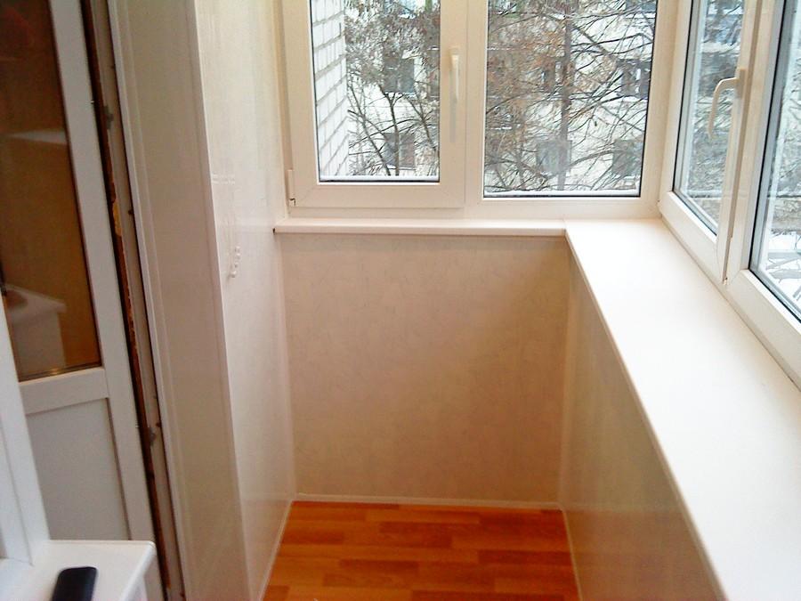 Внутренняя обшивка балкона. Вариант 2