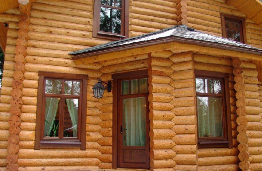 Особенности установки пластиковых окон в деревянном доме
