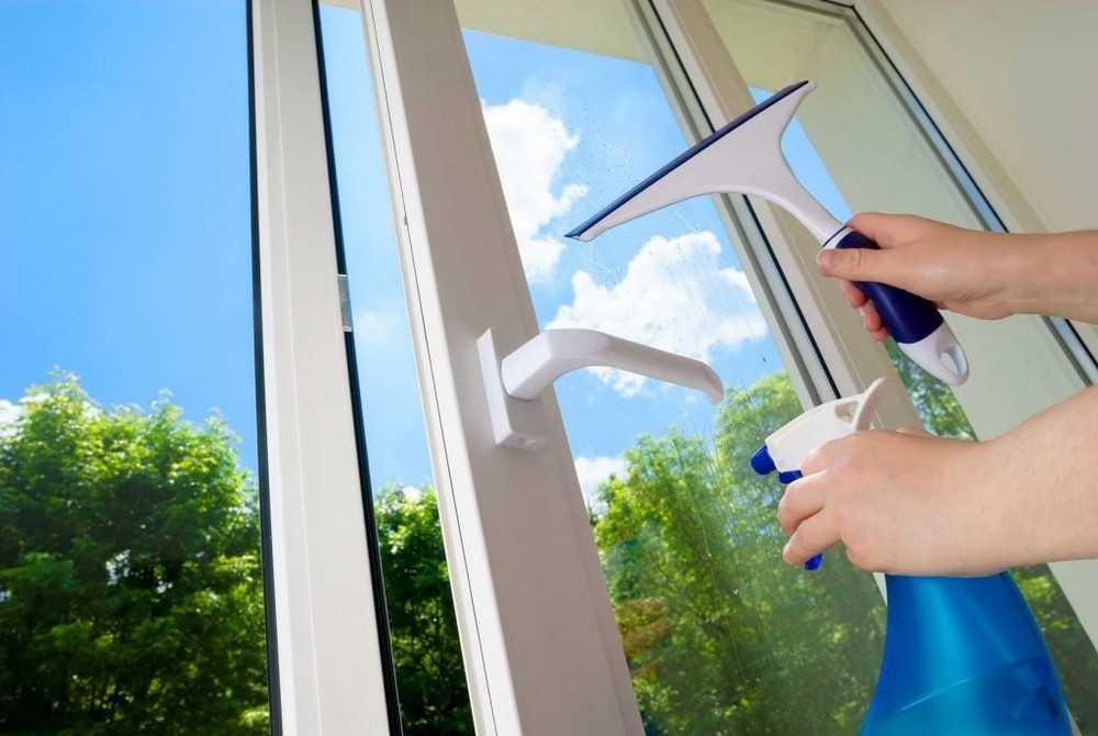 Уход за пластиковыми окнами и правила их эксплуатации