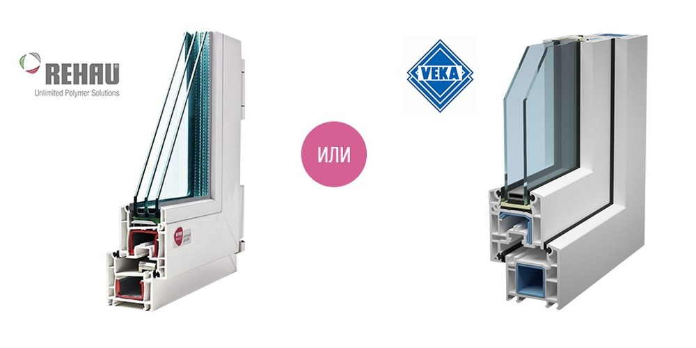 Пластиковые окна REHAU или VEKA, какие лучше?