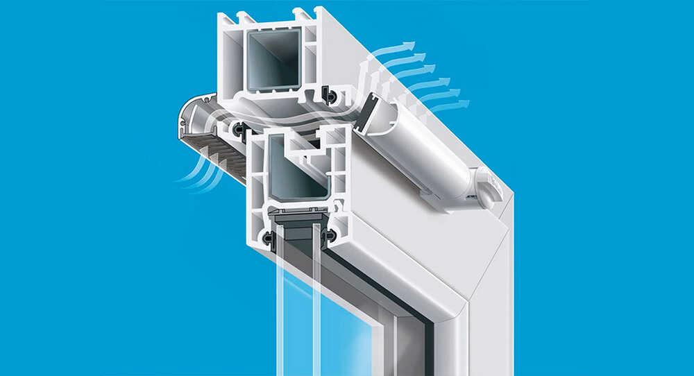 Пластиковые окна и вентиляционные клапаны – пусть дом вдохнет полной грудью